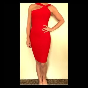 Red Guess dress never worn